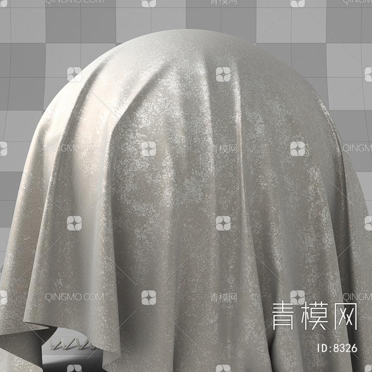 反光银箔布艺vary材质下载【ID:8326】