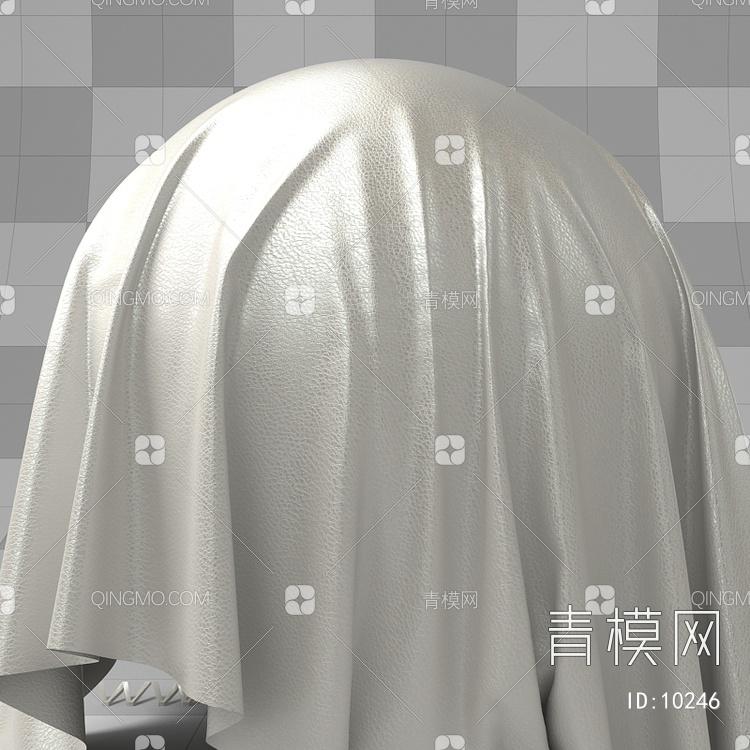 白色皮纹vary材质下载【ID:10246】