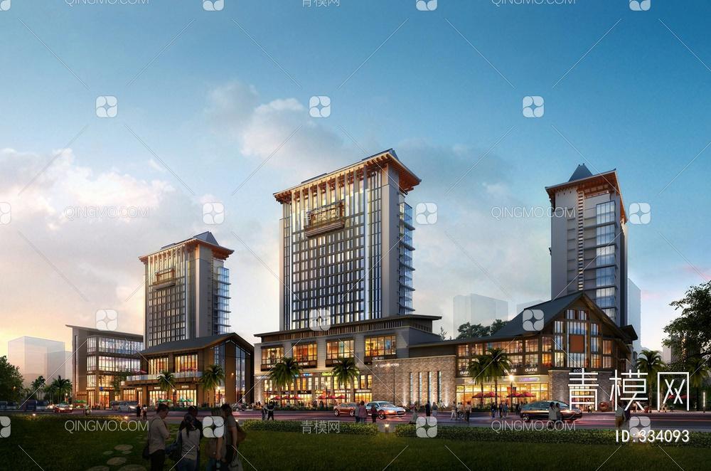 新中式商业项目
