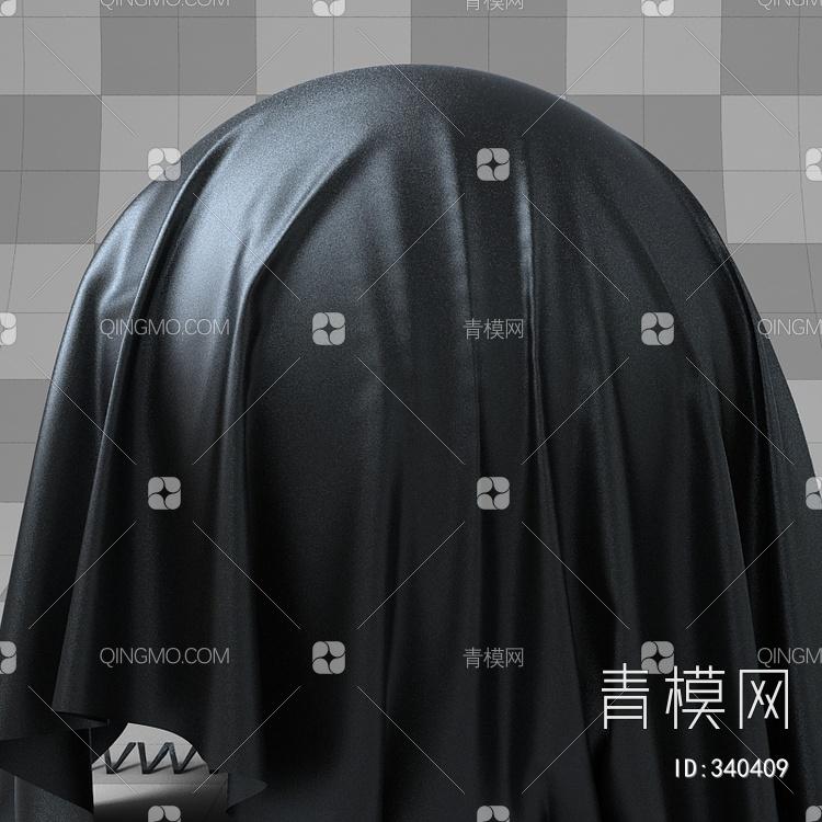 瓦力黑色普通皮纹vary材质下载【ID:340409】