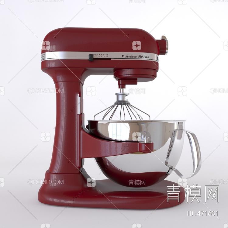 现代搅拌机3D模型