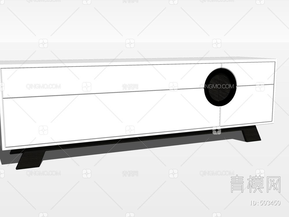 电视柜SU模型下载【ID:503450】