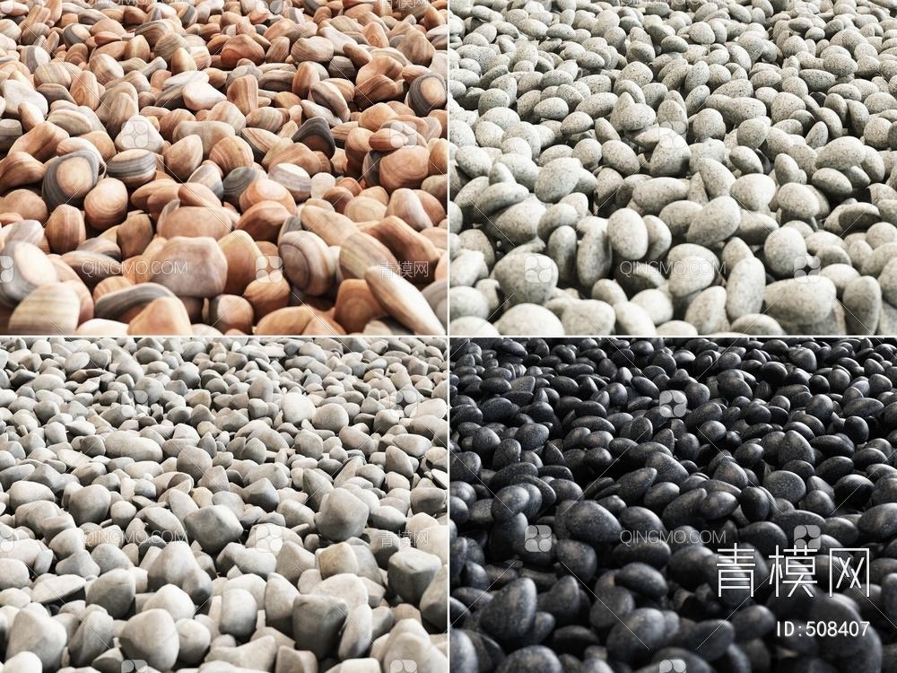 鹅卵石 石子组合