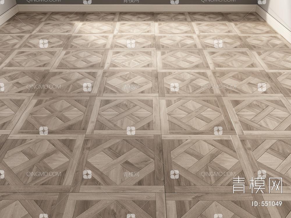 哑光木拼花vary材质下载【ID:551049】