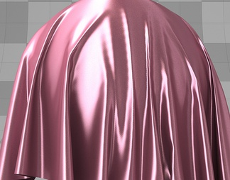 浅粉色丝绸材质库vary材质下载【ID:955】