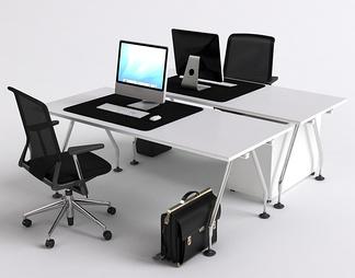 双人办公桌