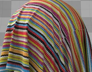 超写实彩色布料
