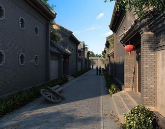 老北京胡同巷子