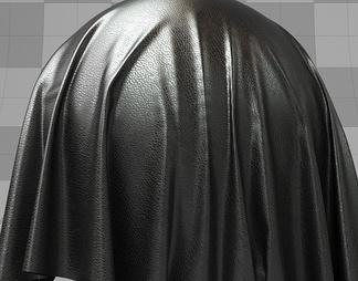 黑色皮革材质库vary材质下载【ID:10203】