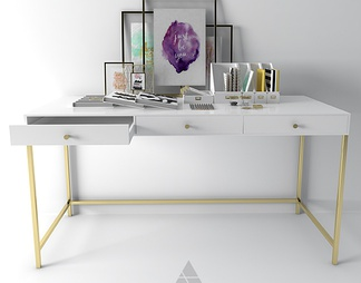 组合桌子3d模型下载【ID:334080】