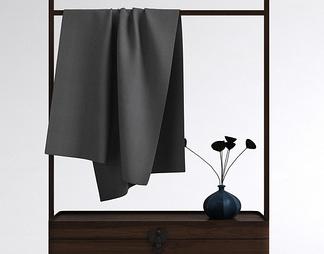 中式衣架柜