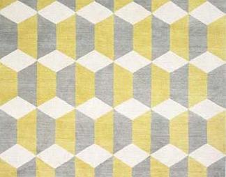抽象几何图案地毯