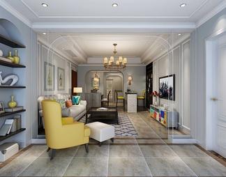 客厅空间  风格