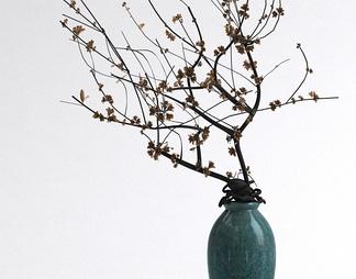 中式瓷器花瓶