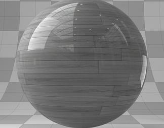 瓦力亮光地板(灰色)