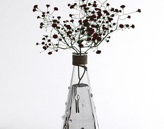现代插花花瓶