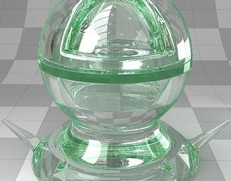 2020厚玻璃vary材质下载【ID:341858】