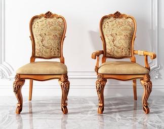 欧式雕花椅子