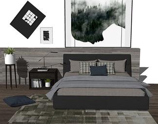 北欧风格床具组合