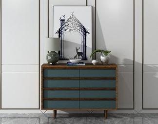 现代北欧装饰柜