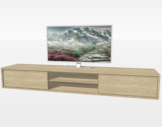 木质电视柜