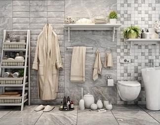 卫浴用品组合