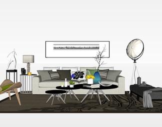 客厅软装组合