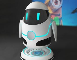 智能机器人投影仪