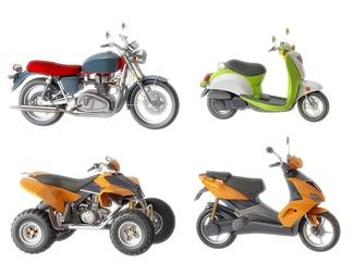 摩托车组合