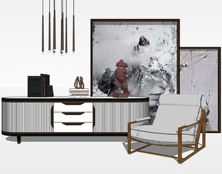 中式电视柜