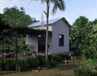 乡村室外房子