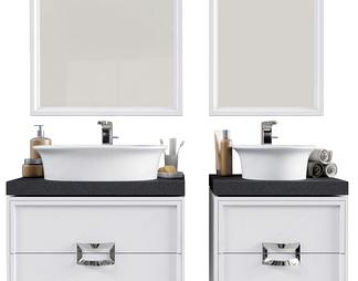 现代洗手台盆