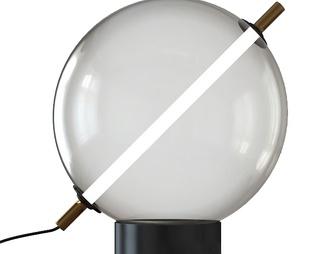 现代流行现代玻璃球形台灯国外