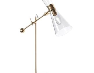 现代金属玻璃台灯