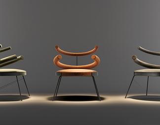 现代创意休闲单椅