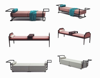 新中式沙发凳