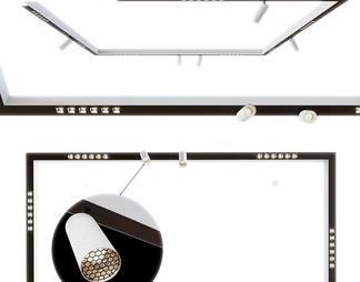 现代LED轨道灯