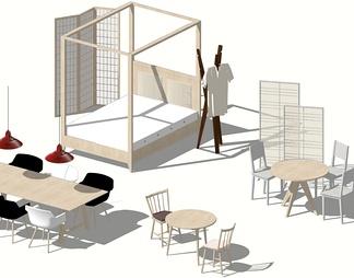 餐桌椅家具组合