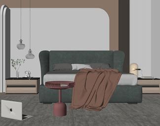 现代轻奢家居卧室