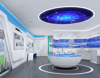 科技展厅3D模型3D模型下载【ID:548758】