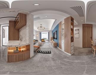 客餐厅3D模型3D模型下载【ID:561104】