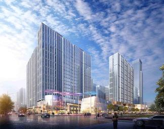 街区式商业高层公寓高层SU模型SU模型下载【ID:572713】