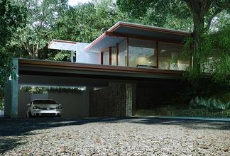 现代森林别墅