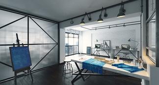 loft现代办公室
