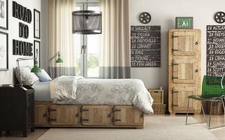 美式现代卧室