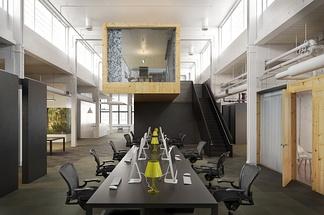 loft现代会议室