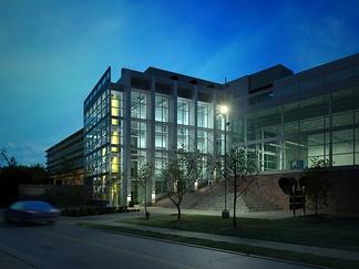 现代大学教学大楼