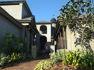 现代别墅入口