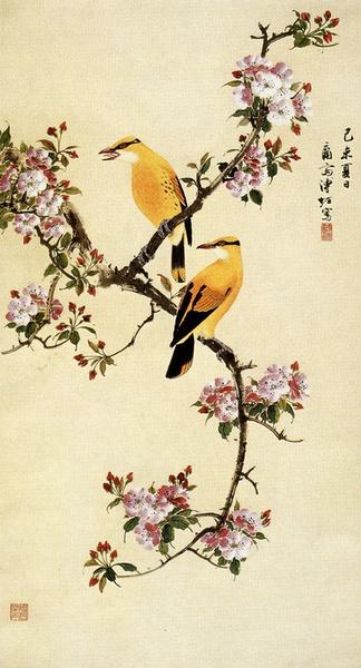 中式花鸟画