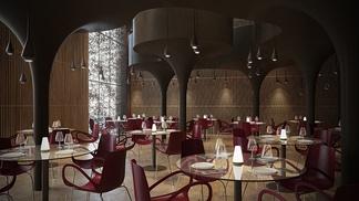 现代高级餐厅